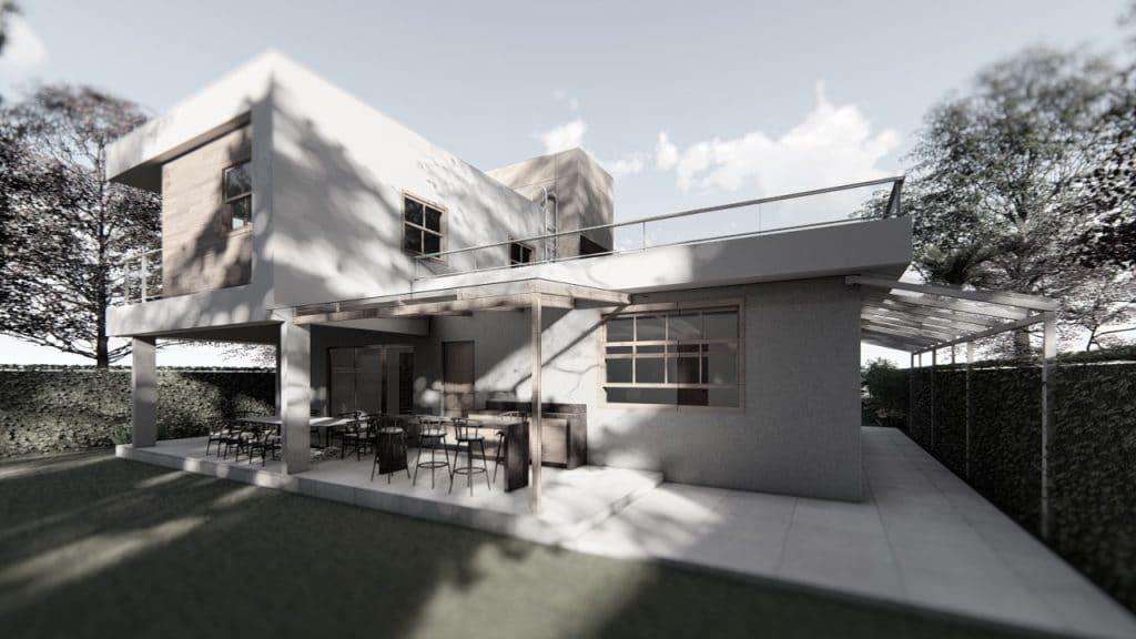 casa onde foi utilizado de bloco sical