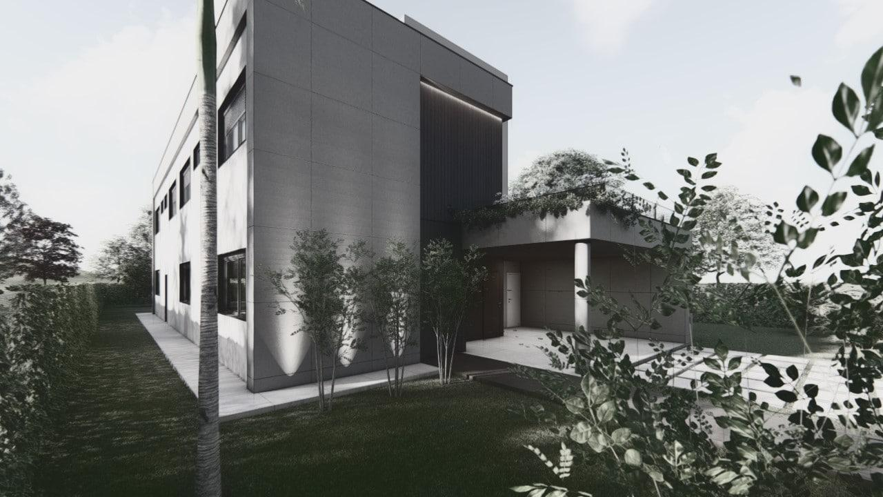 perspectiva de um projeto 3d